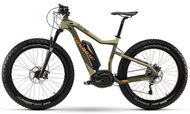 Fatbike elettrica haibike mtb a pedalata assistita for Yamaha e mountain bike